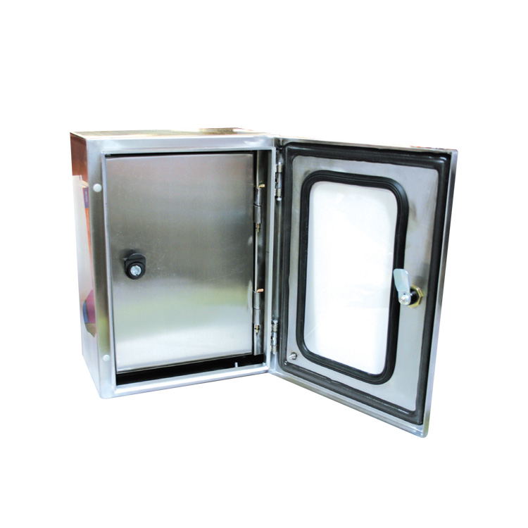 Stainless Steel Enclosures with Transparent  Door